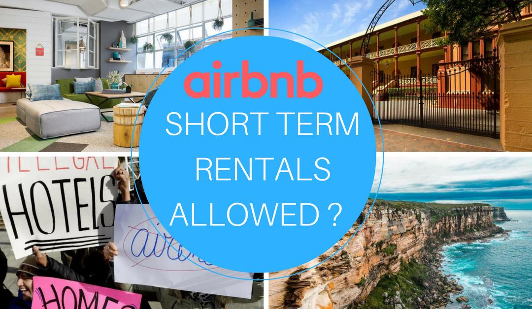 airbnb short term rental laws in sydney airbnb sydney