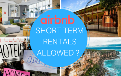 Airbnb Short Term Rental Laws In Sydney