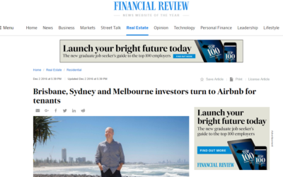 Brisbane, Melbourne Sydney investors turn to Airbnb for tenants