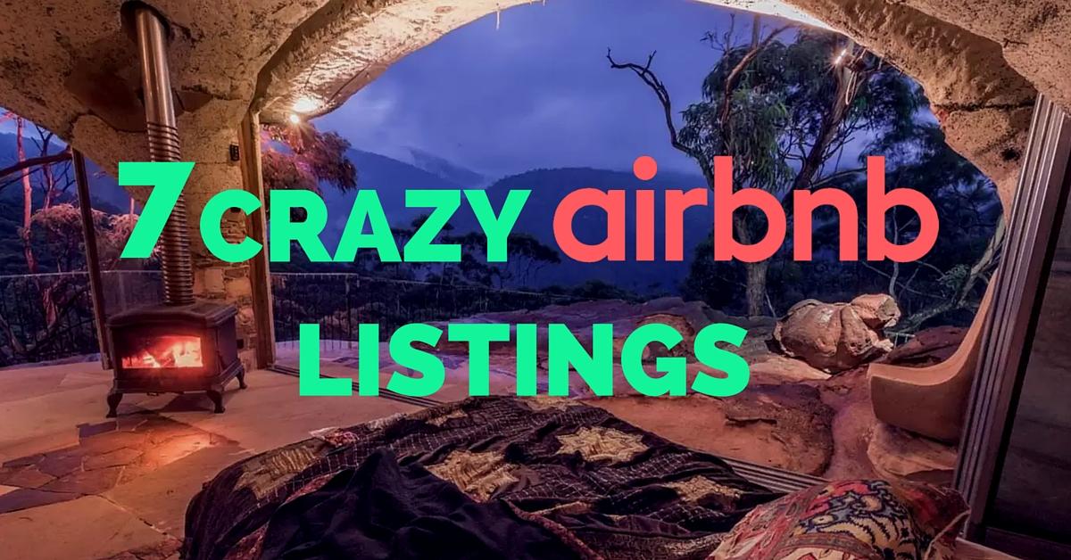 7 Craziest Airbnb Vacation Rentals In Sydney Hostmybnb Com